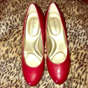 Kelly and Katie Red Pumps